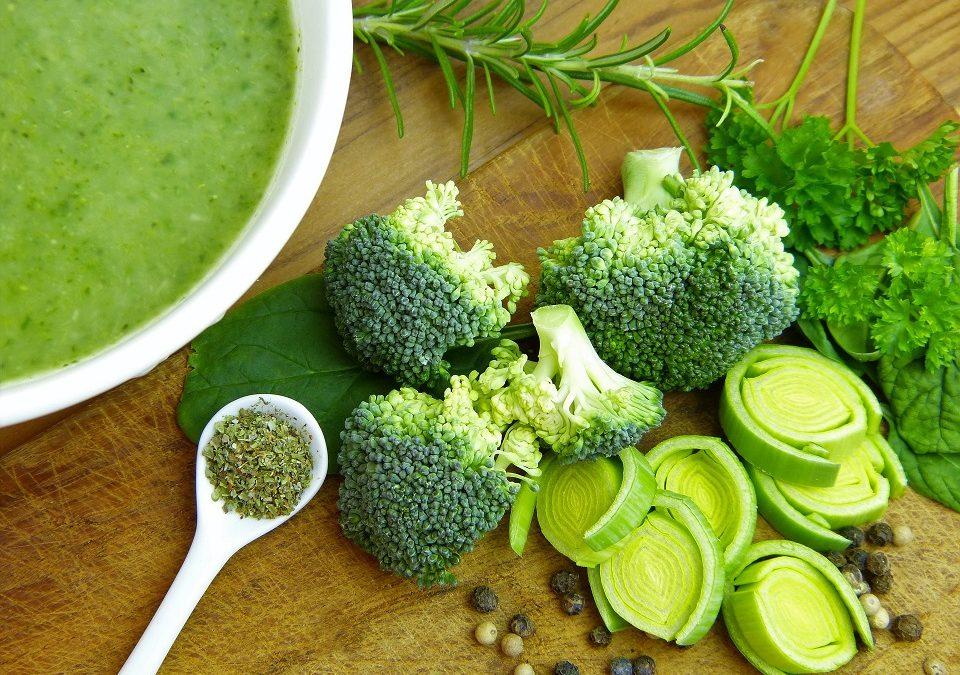 Descubre las propiedades de los vegetales verdes